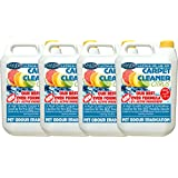Mylek Professional Concentrate Carpet Shampoo 4 X 5 Litres - Suitable for all Machines (Citrus Fragrance)