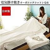 電気毛布 掛け敷き 日本製 電磁波カット オマケ付き