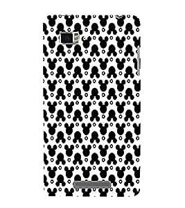 EPICCASE funky mickey Mobile Back Case Cover For Lenovo Vibe Z K910 (Designer Case)