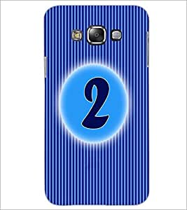 PrintDhaba Numerology Number 2 D-2557 Back Case Cover for SAMSUNG GALAXY GRAND 3 (Multi-Coloured)