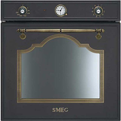 Smeg Cortina SF750AO Built In Electric Single Oven - Anthracite. It Will Perfeclty Look Great Built Into Your Kitchen