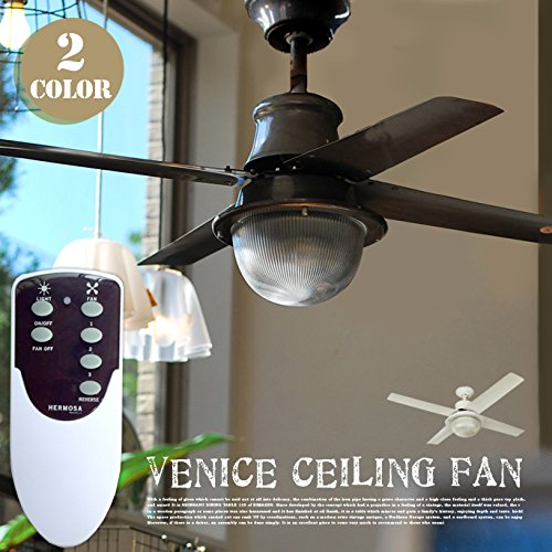 RoomClip商品情報 - HERMOSA VENICE CEILING FAN WH ヴェニスシーリングファン ホワイト 通常リモコン付属タイプ CF42-003