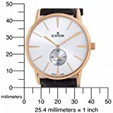 Edox Men's 72014 37R AIR Les Bemonts Ultra Slim Automatic Watch