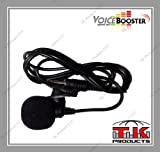 VoiceBooster Tie-Clip Microphone for VoiceBooster (Aker) Voice Amplifiers by TK Products LLC