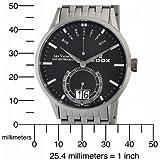 Edox Men's 34002 3 NIN Les Vauberts Date Watch