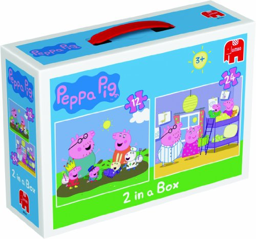 Peppa Pig Duo Jigsaw Puzzles (12 and 24 Pieces)
