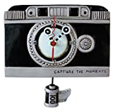 Allen Designs Vintage Camera Pendulum Clock