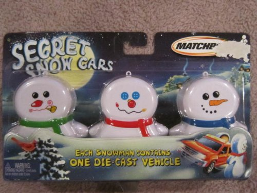 Matchbox Secret Snow Cars