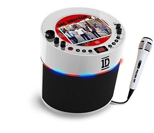 Easy Karaoke One Direction Karaoke Machine - White