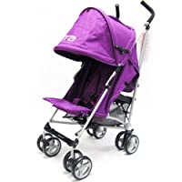 ZETA VOOOM - PLUM Complete With Raincover by Baby Travel