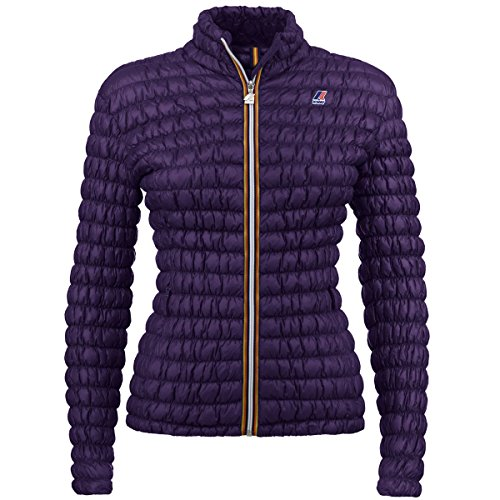 K-Way LENA WARM TECH STRETCH VIOLET IMPERIAL