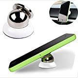 Boolavard (TM) Magnetic Universal Smartphone Car Mount Holder Cradle for iphone 6, iPhone 5/ 5S/ 5C/ 4 /4S, Samsung Galaxy S5/ S4 /S3 /Note 3 ,HTC One, nexus 7,Nokia Lumia 920 and all cellphone,Smartphone (free 360 Degree Rotating)