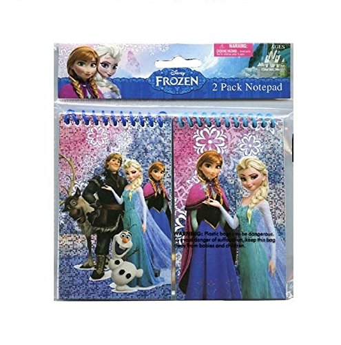Disney Frozen Small Memo Notepad (2 Pads) ~ School Supplies / Party Favors