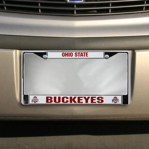 MY OTHER RIDE IS A SHARK Chrome License Plate Frame Tag Border