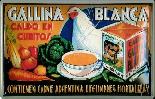 gallina-blanca-immagine-2-targa-latta-tin-sign-visiera-metallo-20-x-30-cm