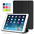 Apple iPad Air 2 Case - MoKo Ultra Slim Lightweight Smart-shell Stand Cover Case for Apple iPad Air 2 (iPad 6) 9.7 Inch iOS 8 Tablet, BLACK (with Smart Cover Auto Sleep / wake)