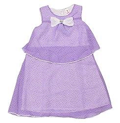 Style Loft Girls' Frock (FROCKS 2_7-8 Years, Purple, 7-8 Years)