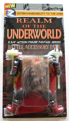 Realm Of The Underworld 5.75 Action Figure Battle Accessory Pack by Realm Of The Underworld