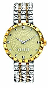 Versus by Versace Women's SOD050014 Coral Gables Analog Display Quartz Two Tone Watch