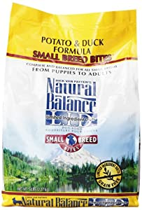 Natural Balance Small Bites Potato and Duck Formula Food, 5-Pound Bag