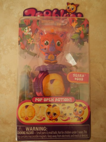 2010 Zoobles Azoozia Collection Action Figure- Zebrina #077 - 1