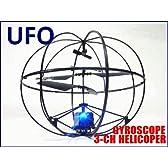 ROBOTIC UFO!? (ジャイロ搭載 球体ボール型 3ch赤外線ラジコンヘリコプター)