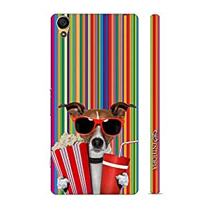 Enthopia Designer Hardshell Case Whose your Doggy? Back Cover for Sony Xperia Z5