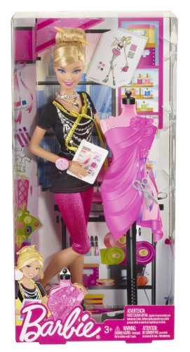 Barbie I Can Be Fashion Designer Doll (Barbie I Can Be Dolls compare prices)