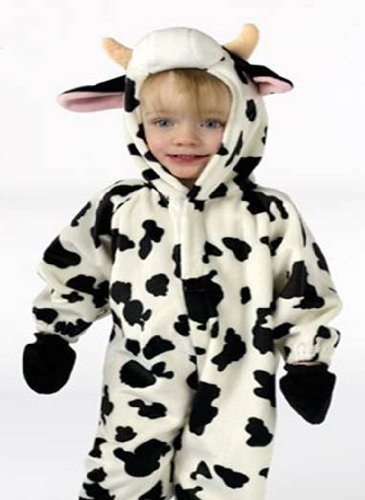 Fun World Infant/Toddler Cow Animal Halloween Costume