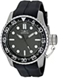 Invicta Men's 1751 Pro Diver Stainless Steel Watch with Rubber Strap