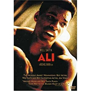 "Will Smith stars in the title role of this movie, ""Ali."""