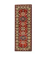 L'Eden del Tappeto Alfombra Uzebekistan Super Multicolor 63 x 176 cm