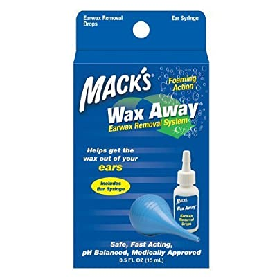 Mack's Wax Away Earwax Removal System 1 ea Pack of 3 by Mack's
