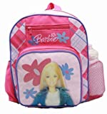 Small Backpack - Barbie - with Water Bottle - Pink Doll