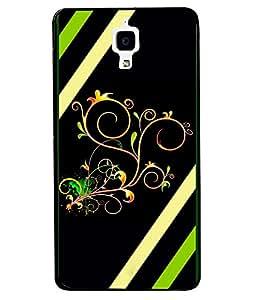 Fuson 2D Printed Designer back case cover for Xiaomi MI 4 - D4354