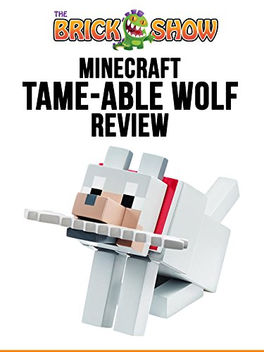 Minecraft Tame-Able Wolf Figure Review