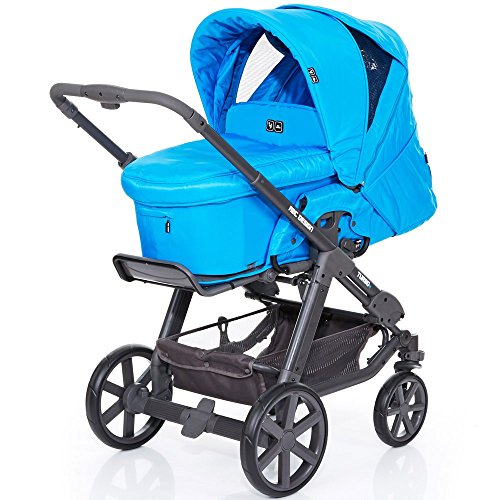 ABC Design Kombi-Kinderwagen Turbo 4 Fashion - Water blau