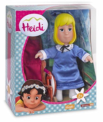 700012540 - Heidi - Puppen-Set - Clara mit Rollstuhl, 2-teilig