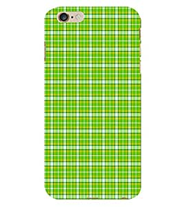 Fiobs Green Blue Pattern Phone Back Case Cover for Apple iPhone 6