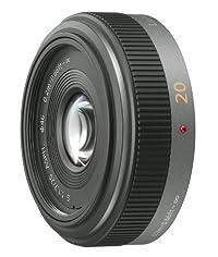 Panasonic マイクロフォーサーズ用 20mm F1.7 単焦点 広角パンケーキレンズ  G ASPH. H-H020