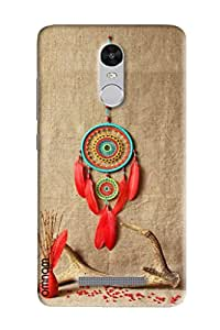 Omnam Beautiful Desinger Woolen Art Hanging On Wall Printed Back Cover Case For Xiaomi Redmi Note 3