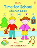 img - for Time for School Sticker Book (First Sticker Books) book / textbook / text book