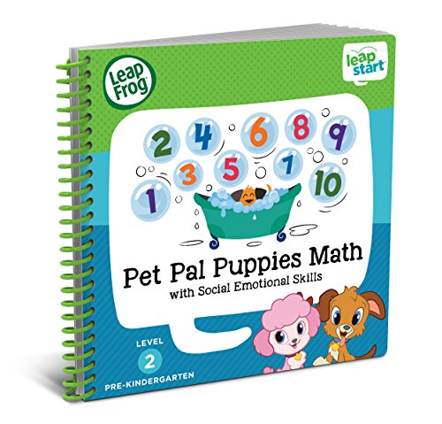 Leap Frog Leap Start Pre Kindergarten Activity Book: Pet Pal Puppies Math And Social Emotional Skills