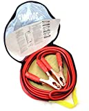 200 Amp 8 Gauge Jumper Cables Extra Long 10ft No Tangle Battery Booster Cables 10 feet with FREE Travel Case