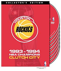 NBA Houston Rockets 1993-1994 Champions - Clutch City