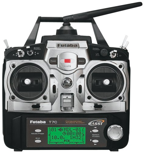 Futaba 7C 2.4GHZ AIR R617FS 4-S3004 Transmitter