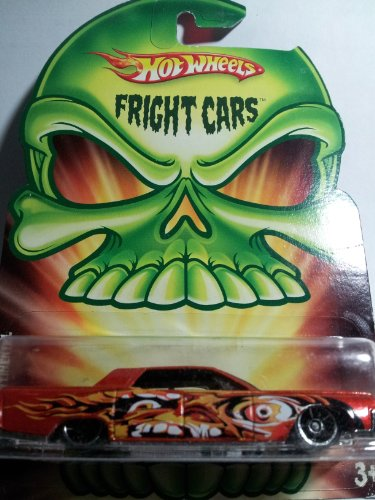 Hot Wheels 2008 Fright Cars Orange 64 Lincoln Continental - 1