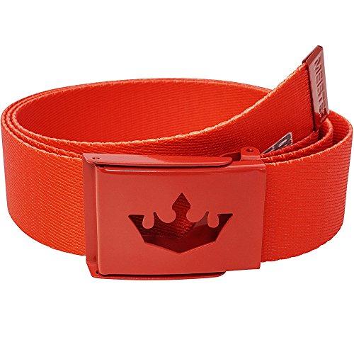 meister-player-golf-webbing-belt-adjustable-reversible-team-red