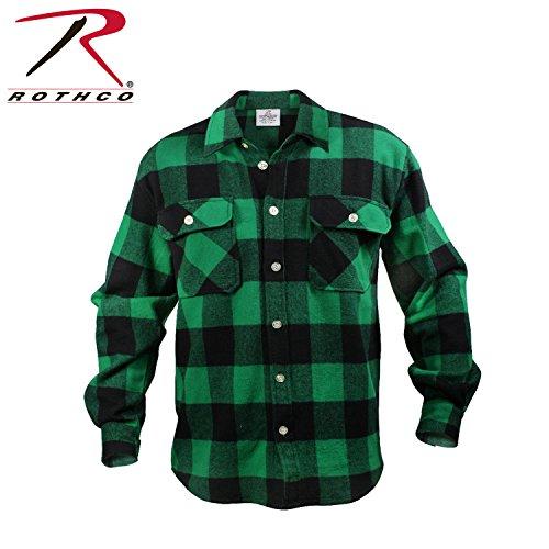 green-extra-heavyweight-brawny-buffalo-plaid-flannel-shirt-size-x-large