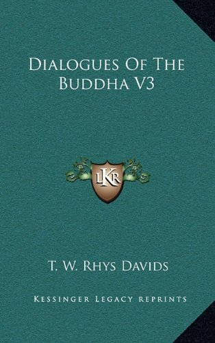 Dialogues of the Buddha V3